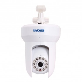 ESCAM Cat QF300 Wireless IP Camera CCTV for Android and iOS 1/4 Inch CMOS - White - 4
