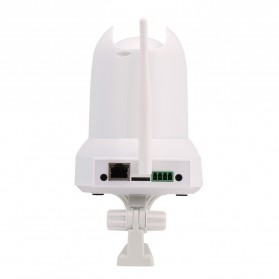 ESCAM Cat QF300 Wireless IP Camera CCTV for Android and iOS 1/4 Inch CMOS - White - 6