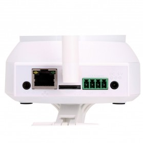ESCAM Cat QF300 Wireless IP Camera CCTV for Android and iOS 1/4 Inch CMOS - White - 7