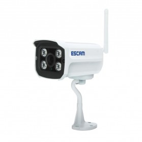 ESCAM Brick QD900 WiFi Waterproof Bullet Wireless IP Camera CCTV 1/2.5 Inch CMOS 1080P - White - 3