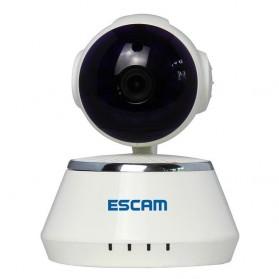 ESCAM Secure Dog QF510 Wireless IP Camera CCTV 1/4 Inch CMOS 720P - White - 2