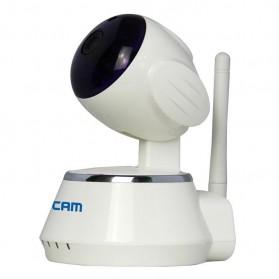 ESCAM Secure Dog QF510 Wireless IP Camera CCTV 1/4 Inch CMOS 720P - White - 3