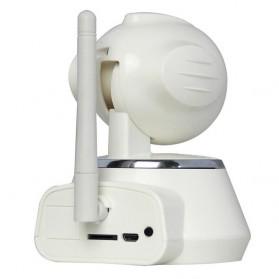 ESCAM Secure Dog QF510 Wireless IP Camera CCTV 1/4 Inch CMOS 720P - White - 4