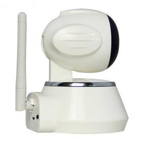 ESCAM Secure Dog QF510 Wireless IP Camera CCTV 1/4 Inch CMOS 720P - White - 5
