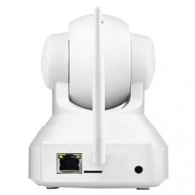 ESCAM QF001 Wireless IP Camera CCTV 1/4 Inch CMOS 720P - White - 3