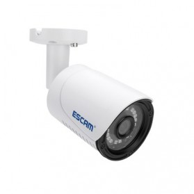 ESCAM Plane QE07 Waterproof Bullet IP Camera CCTV 1/4 Inch 1MP CMOS 720P - White - 2