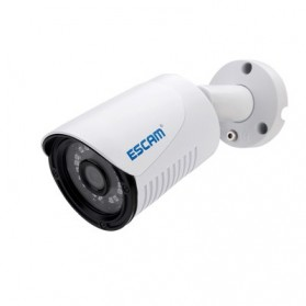 ESCAM Plane QE07 Waterproof Bullet IP Camera CCTV 1/4 Inch 1MP CMOS 720P - White - 4