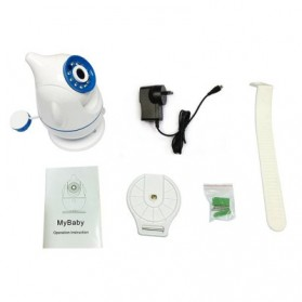 ESCAM Penguin QF521 WiFi Baby Monitoring Camera 1MP CMOS 720P - White - 7