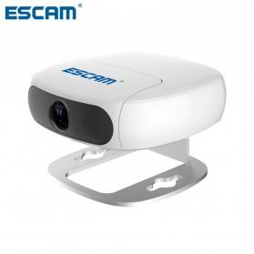 Escam Shell QN01 Wide Angle Lens Time Machine WiFi IP Camera CCTV 1/3 Inch 1080P - White