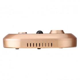 ESCAM Doorbell QF600 WiFi Mini IP Camera Surveillance CCTV 720P - Golden - 2