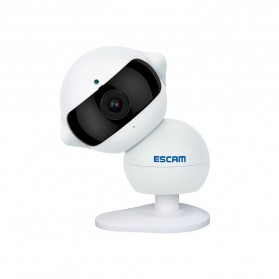 ESCAM Elf QF200 WIFI IP Camera CCTV Infrared Night Vision 960P - White - 2