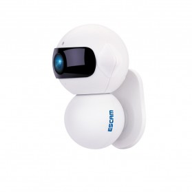 ESCAM Elf QF200 WIFI IP Camera CCTV Infrared Night Vision 960P - White - 3