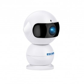 ESCAM Elf QF200 WIFI IP Camera CCTV Infrared Night Vision 960P - White - 4