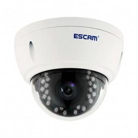 ESCAM Dome QD420 Waterproof IP Camera CCTV 1/3 Inch 4MP ONVIF Nightvision - White