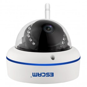 ESCAM Speed QD800 WiFi Waterproof Dome IP Camera CCTV 1/2.5 Inch CMOS 1080P - White