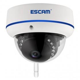 ESCAM Speed QD800 WiFi Waterproof Dome IP Camera CCTV 1/2.5 Inch CMOS 1080P - White - 2