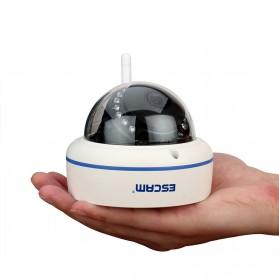 ESCAM Speed QD800 WiFi Waterproof Dome IP Camera CCTV 1/2.5 Inch CMOS 1080P - White - 3