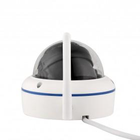 ESCAM Speed QD800 WiFi Waterproof Dome IP Camera CCTV 1/2.5 Inch CMOS 1080P - White - 4