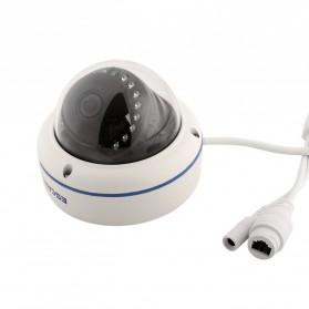 ESCAM Speed QD800 WiFi Waterproof Dome IP Camera CCTV 1/2.5 Inch CMOS 1080P - White - 5
