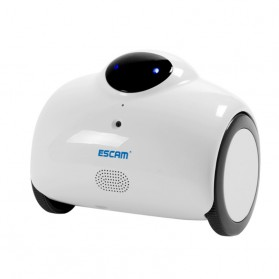 ESCAM Robot QN02 Wireless IP Camera Monitoring Touch Interaction 720P - White