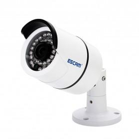 ESCAM Bolt QD410 IR Bullet IP Camera P2P Night Vision H.265 4MP 1520P FHD - White - 2