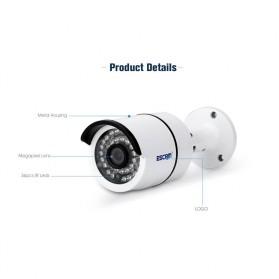 ESCAM Bolt QD410 IR Bullet IP Camera P2P Night Vision H.265 4MP 1520P FHD - White - 5