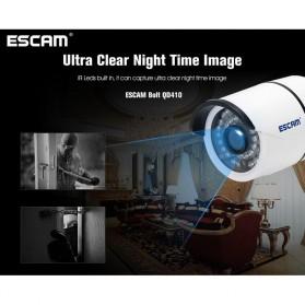 ESCAM Bolt QD410 IR Bullet IP Camera P2P Night Vision H.265 4MP 1520P FHD - White - 8