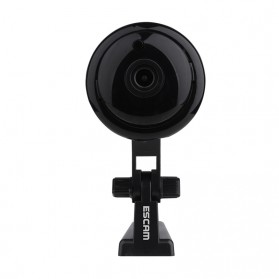 Escam Button Q6 Mini WiFi IP Camera ONVIF HD 720P - Black - 2