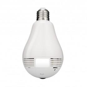 Escam Watt QP135 Bulb WiFi IP Camera 960P - White - 2