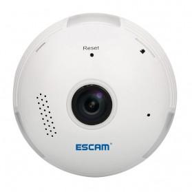 Escam Watt QP135 Bulb WiFi IP Camera 960P - White - 3