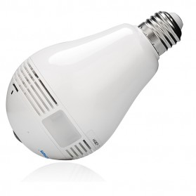 Escam Watt QP135 Bulb WiFi IP Camera 960P - White - 7