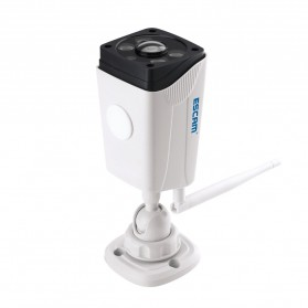 ESCAM Moon QP02 WiFi IP Camera CCTV 1/4 Inch 2MP 1080P - White - 3