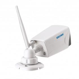 ESCAM Moon QP02 WiFi IP Camera CCTV 1/4 Inch 2MP 1080P - White - 4