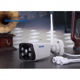 ESCAM Moon QP02 WiFi IP Camera CCTV 1/4 Inch 2MP 1080P - White - 7