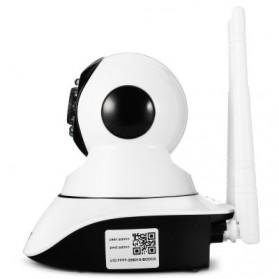 ESCAM G02 Bullet IP Camera CCTV 1/4 Inch CMOS 720P - White - 4