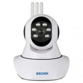 ESCAM QF503 Bullet IP Camera CCTV 1/4 Inch CMOS 960P - White - 2
