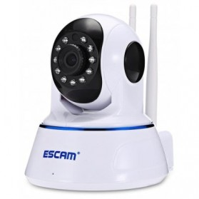 ESCAM QF003 Bullet IP Camera CCTV 1/4 Inch CMOS 1080P - White - 1