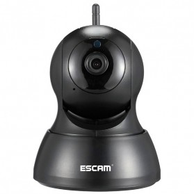 ESCAM QF007 IP Camera CCTV 1/4 Inch CMOS 720P - Black