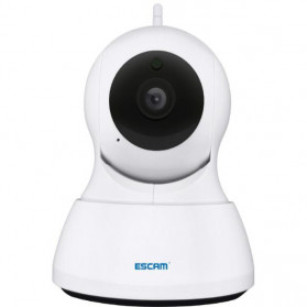 ESCAM QF007 IP Camera CCTV 1/4 Inch CMOS 720P - White