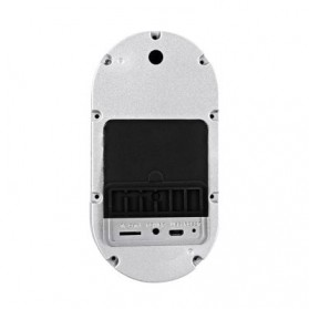ESCAM Doorbell QF220 WiFi Mini IP Camera Surveillance CCTV 960P - Silver - 3