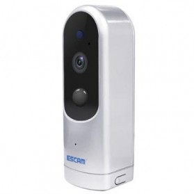 ESCAM Probell QF210 Mini WiFi IP Camera CCTV HD 960P - White - 2