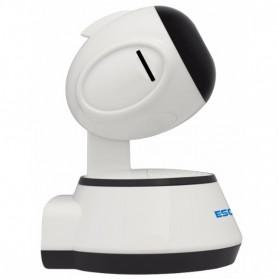 ESCAM Wireless IP Camera CCTV 1/4 Inch CMOS 720P Nightvision - G10 - White - 2