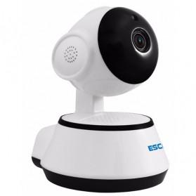 ESCAM Wireless IP Camera CCTV 1/4 Inch CMOS 720P Nightvision - G10 - White - 4
