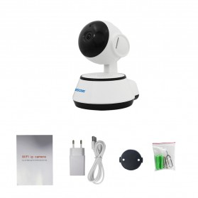 ESCAM Wireless IP Camera CCTV 1/4 Inch CMOS 720P Nightvision - G10 - White - 5