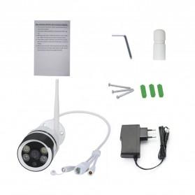 ESCAM QF508 Wireless IP Camera CCTV IR 1/4 Inch CMOS 1080P - White - 5