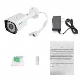 ESCAM QH002 IR Bullet IP Camera  Night Vision 2MP 1080P - White - 7
