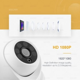 ESCAM QH001 IR Dome IP Camera Night Vision 2MP 1080P - White - 3