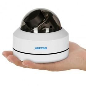 ESCAM PVR002 Dome IP Camera CCTV 1/2.7 Inch 2M CMOS 1080P - White - 5