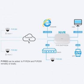 ESCAM PVR002 Dome IP Camera CCTV 1/2.7 Inch 2M CMOS 1080P - White - 7