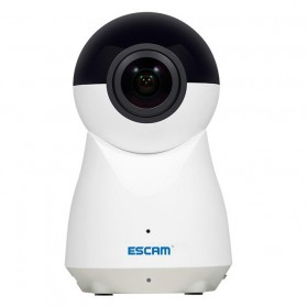 ESCAM QP720 Panoramic WiFi IP Camera CCTV 1/3 Inch CMOS 1080P - White